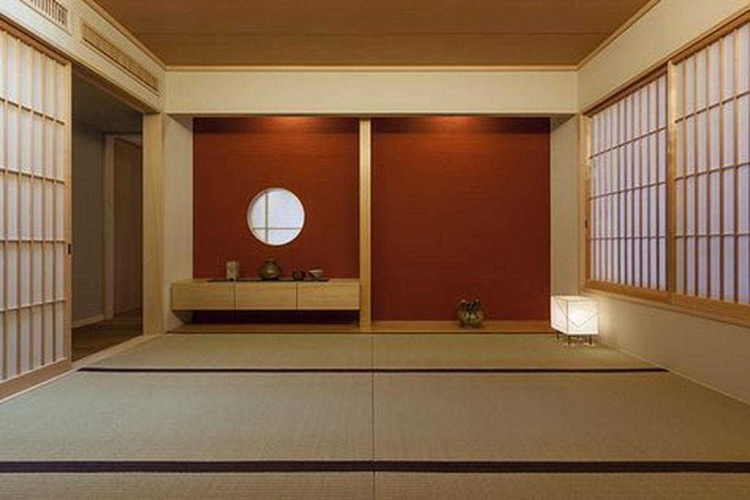 Apartment With Artistic Japanese Style Design 45