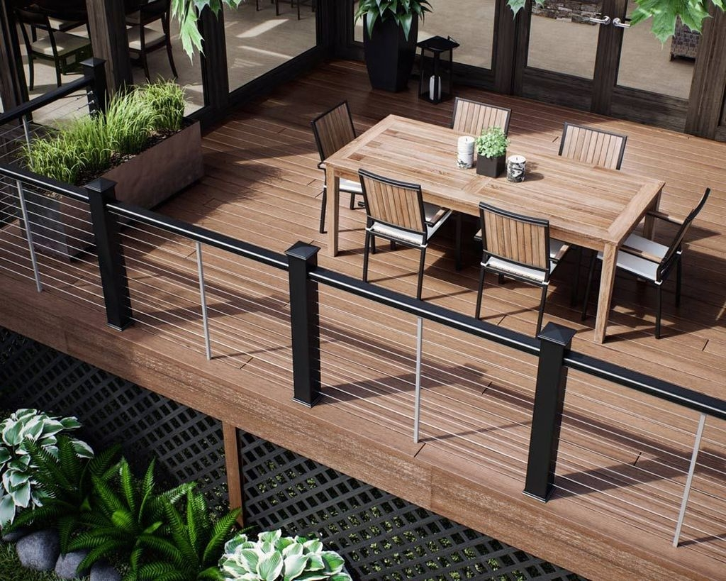 Wood Railing Ideas For Your House Style 21