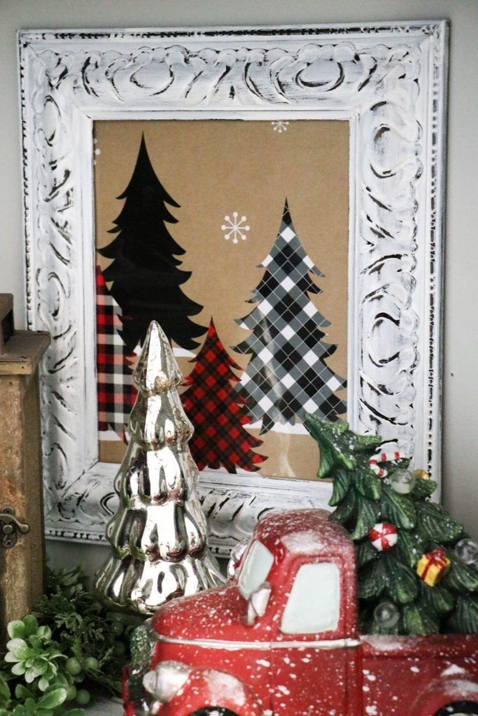 Simple Diy Christmas Home Decor Ideas 16