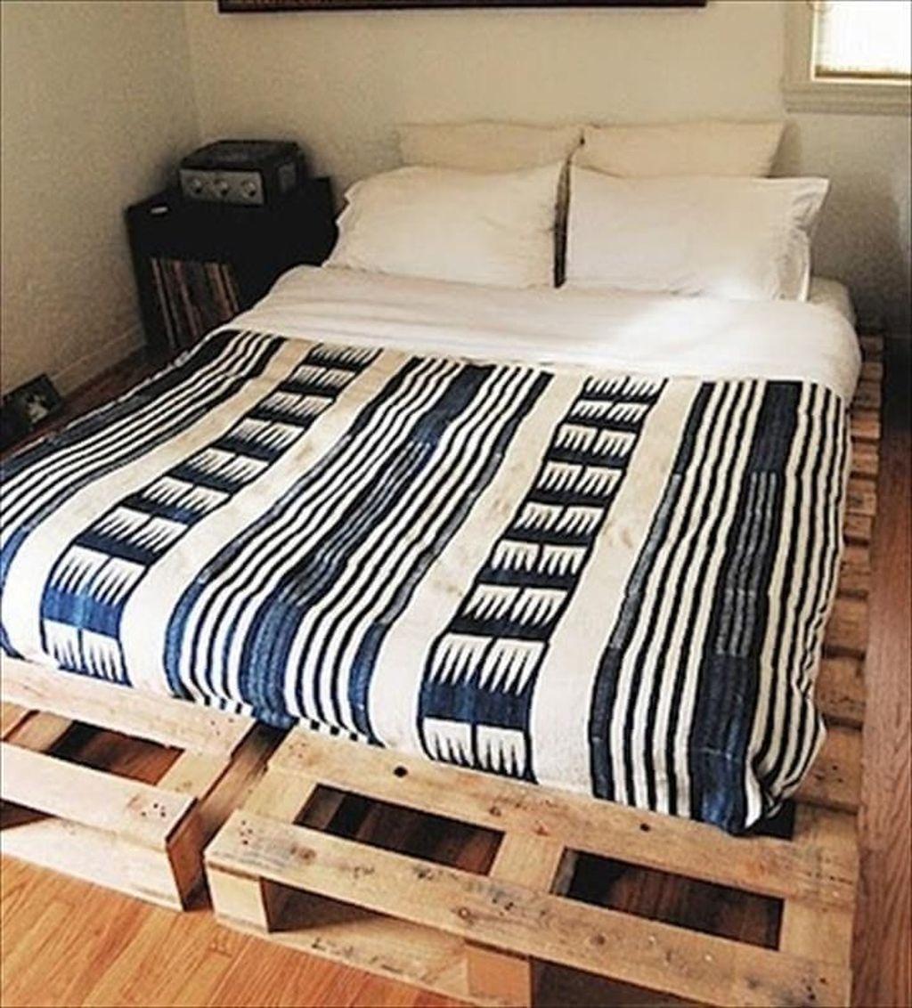 Lovely Diy Wooden Platform Bed Design Ideas 09