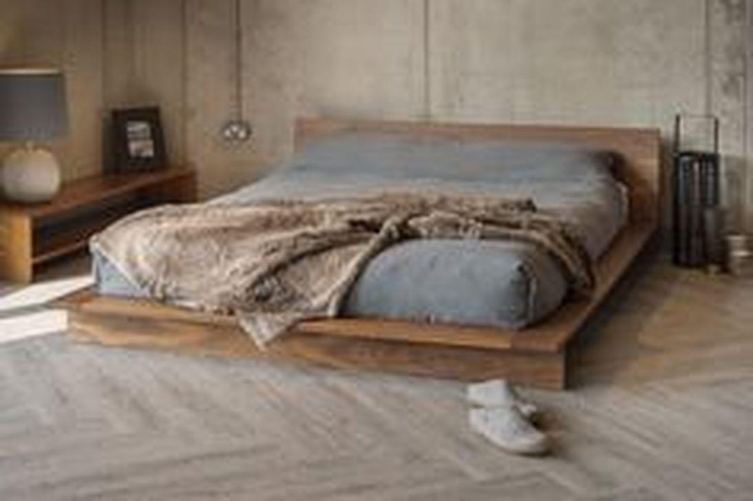 Lovely Diy Wooden Platform Bed Design Ideas 11