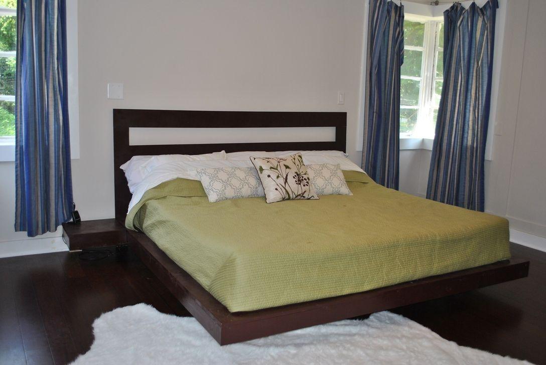 Lovely Diy Wooden Platform Bed Design Ideas 14