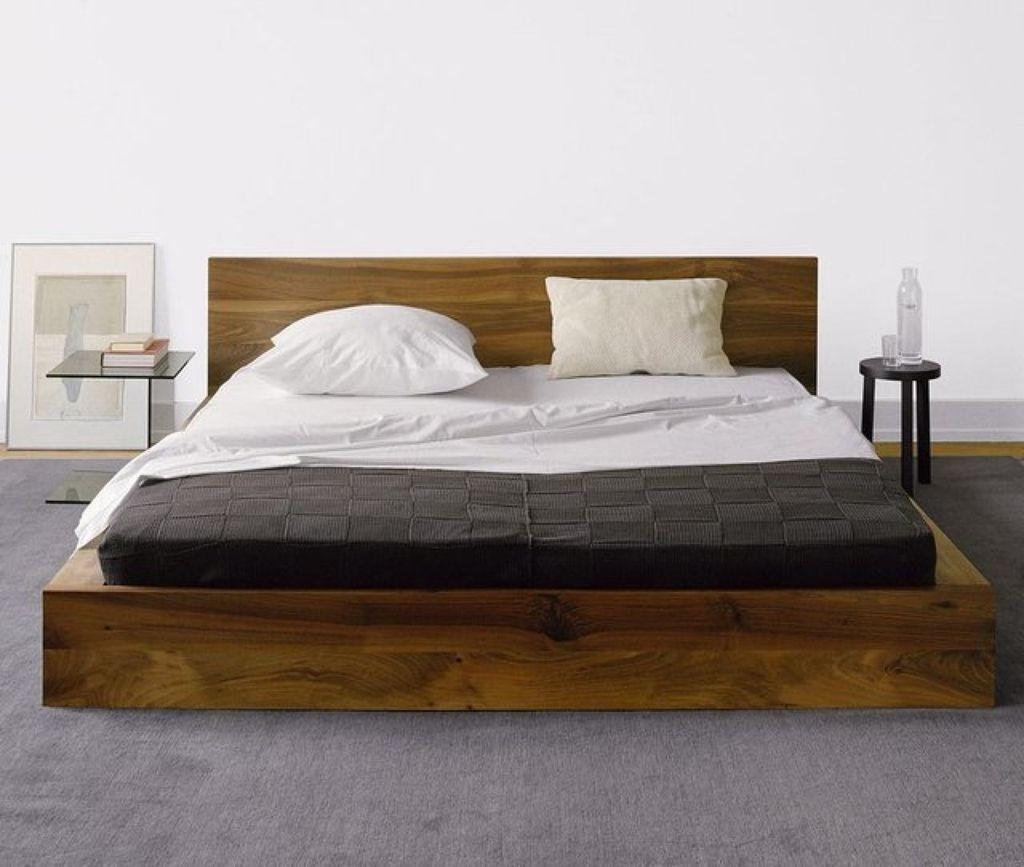 Lovely Diy Wooden Platform Bed Design Ideas 27