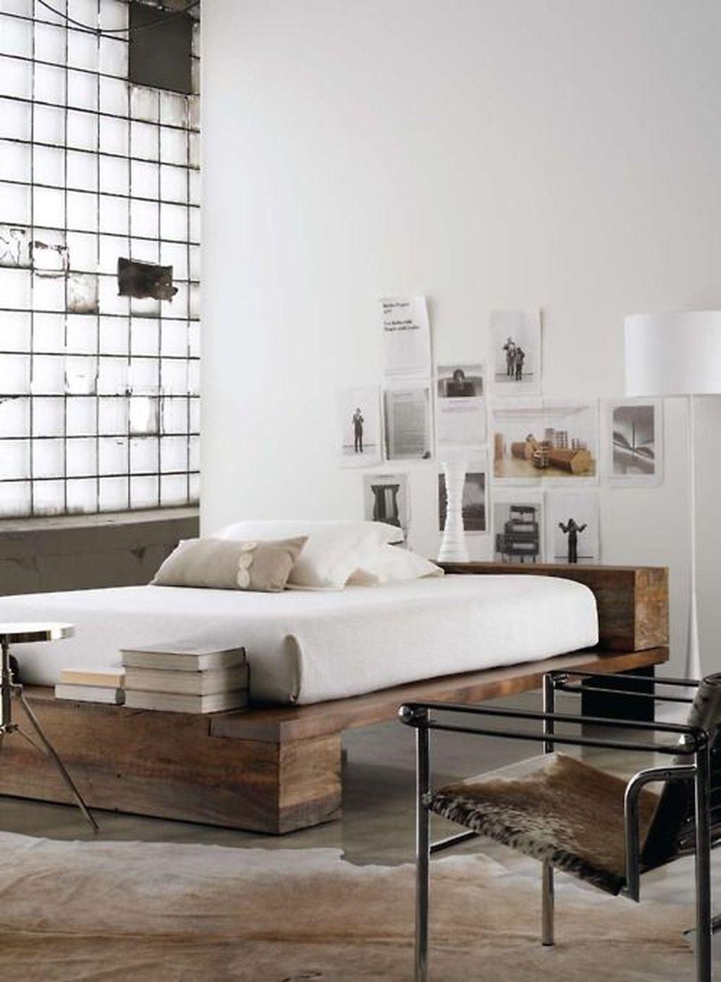 Lovely Diy Wooden Platform Bed Design Ideas 38
