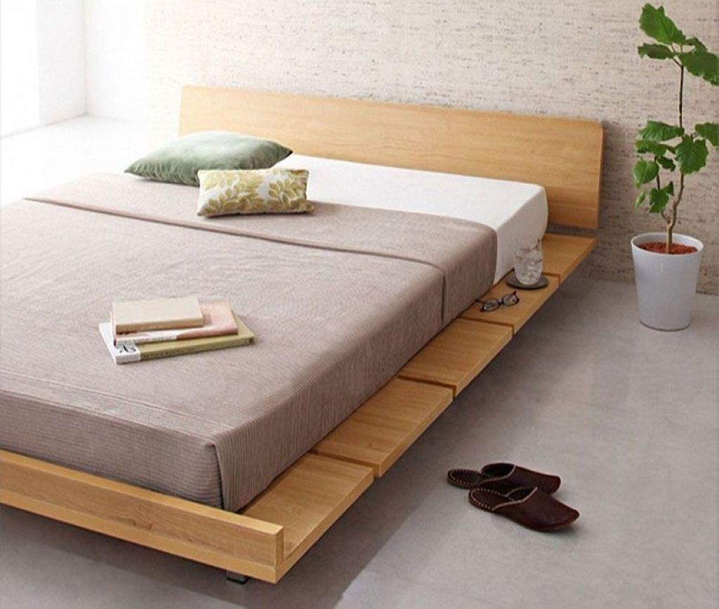 Lovely Diy Wooden Platform Bed Design Ideas 40