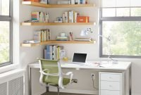 Amazing Corner Shelves Design Ideas 32