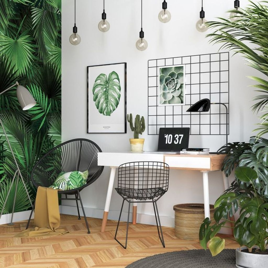 Magnificient Industrial Office Design Ideas 07