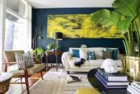 Catchy Living Room Designs Ideas With Bold Black Furniture 52