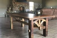 Cute Farmhouse Table Design Ideas Which Is Not Outdated 37