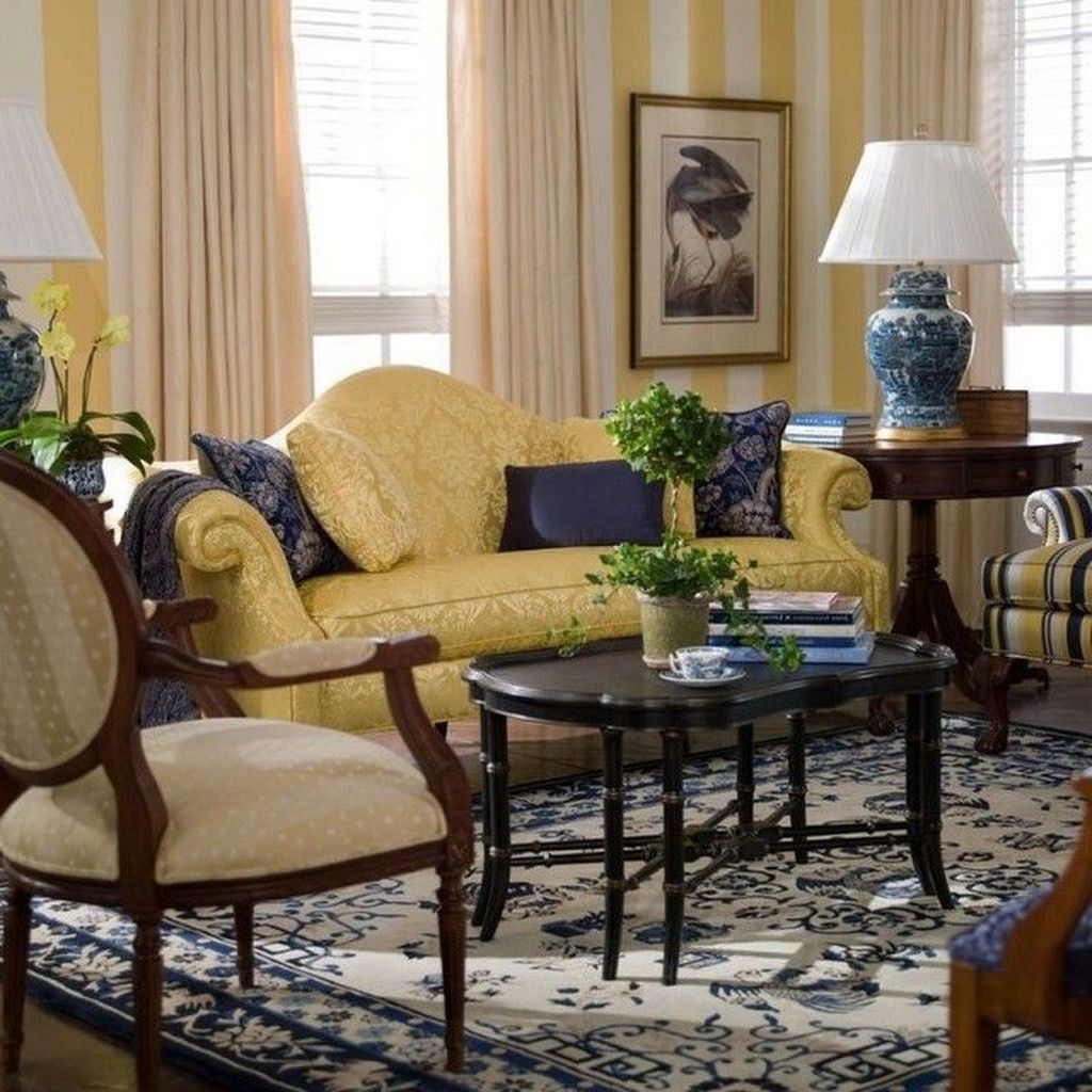 Fancy Living Room Decor Ideas With Ginger Jar Lamps 33