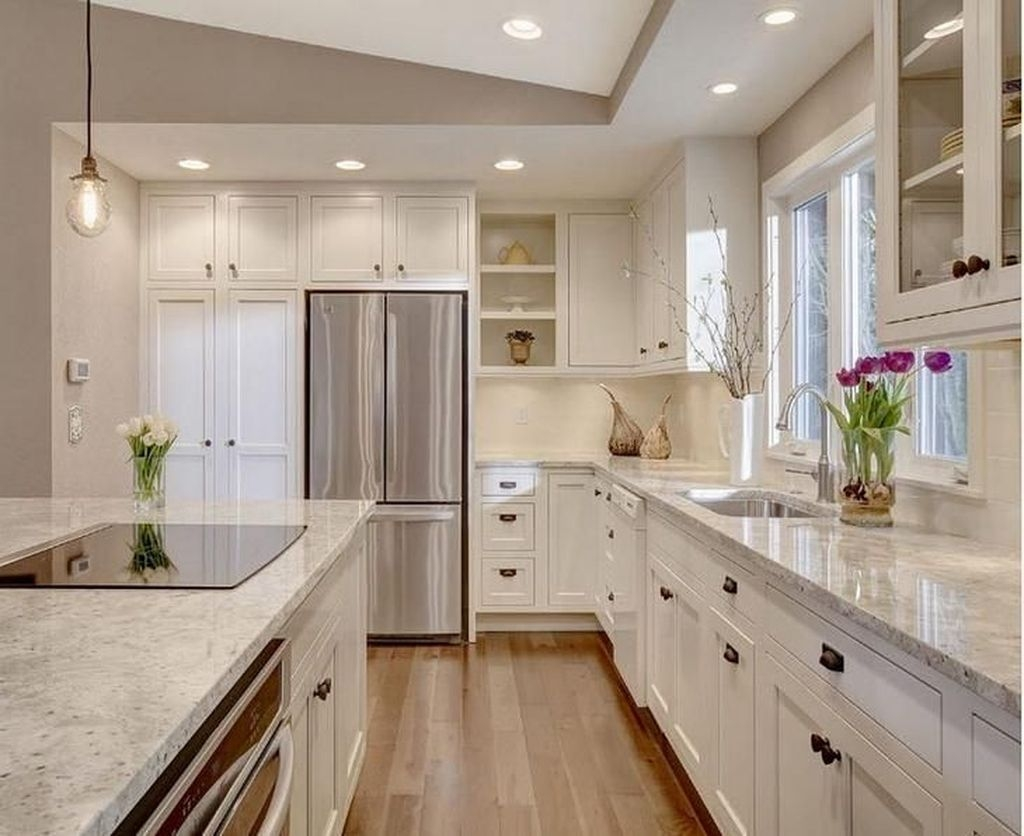 Unusual White Kitchen Design Ideas To Try 56