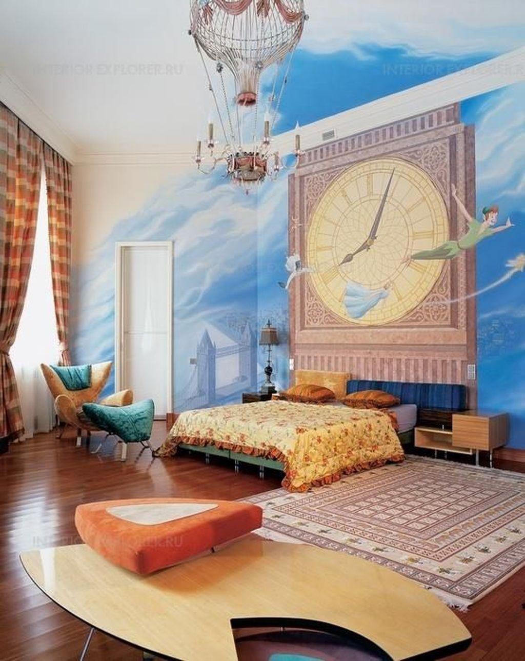 Adorable Disney Room Design Ideas For Your Childrens Room 02